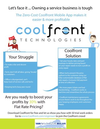 Coolfront Fact Sheet - Virginia Air