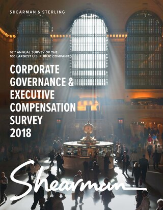 2018 Corporate Governance & Execution Compensation Survey