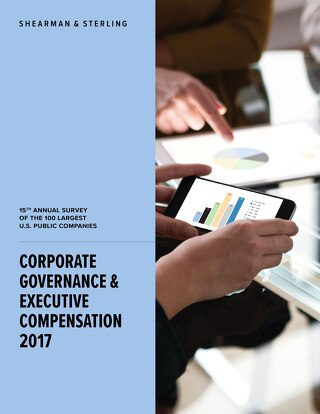 2017 Corporate Governance & Execution Compensation Survey