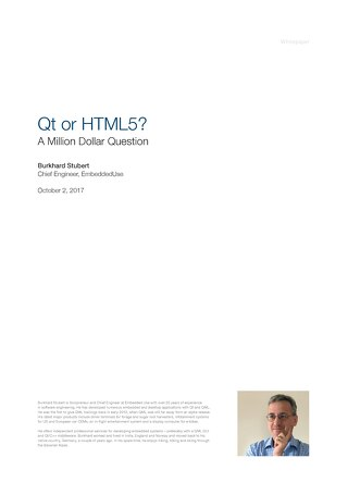 White Paper: Qt vs HTML5 Japanese ver.