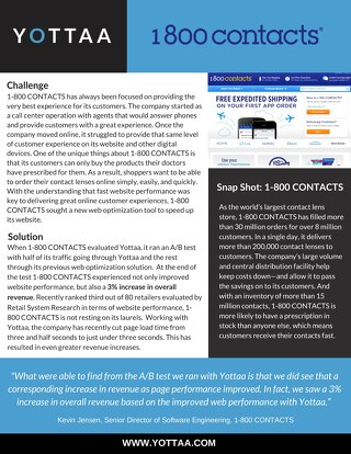 Case Study: 1-800 CONTACTS