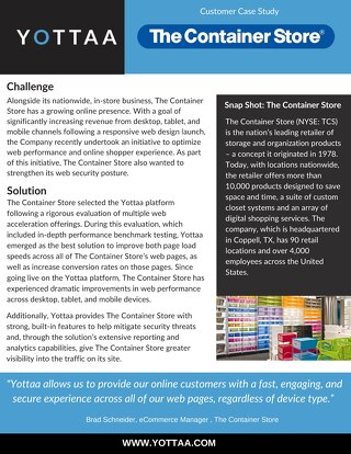 Case Study: The Container Store