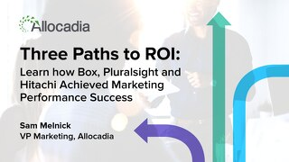 Three Paths to ROI Presentation Slides