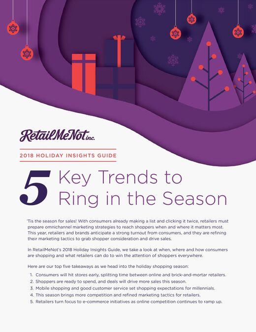 2018 Holiday Insights