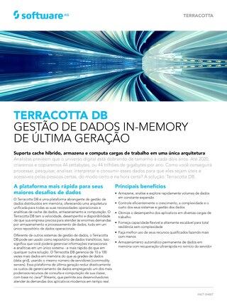 Terracotta DB: Gestão de dados em memória