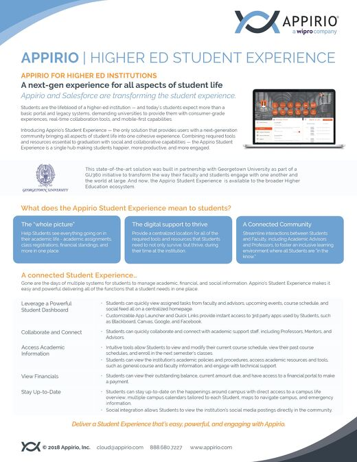 Higher Ed Student Experience