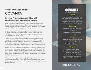 Case Study: Covanta
