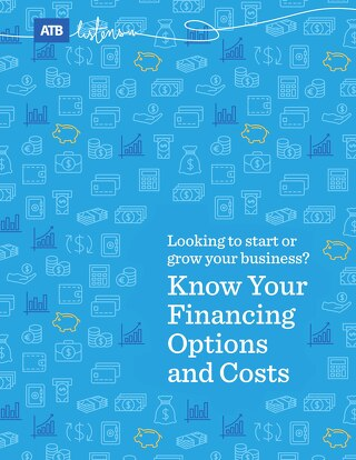 Know your financing options and costs