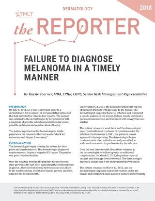 Reporter 2018 Dermatology