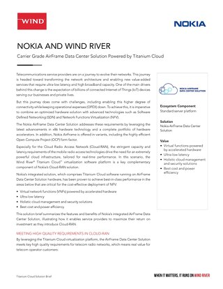 Nokia and Wind River