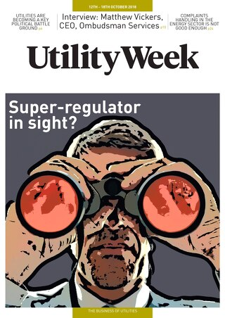 Utility Week 12th October 2018