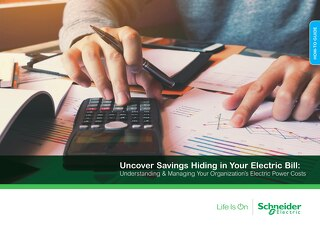Uncover Savings Hiding in Your Electric Bill [eBook]
