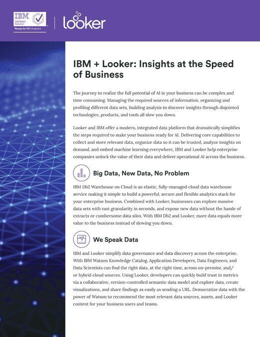 IBM Solution Sheet