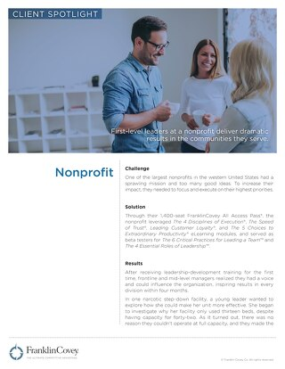 AAP NonProfit CaseStudy