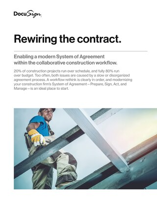 Enabling a 'Smart System of Agreement...within the Collaborative Construction Workflow