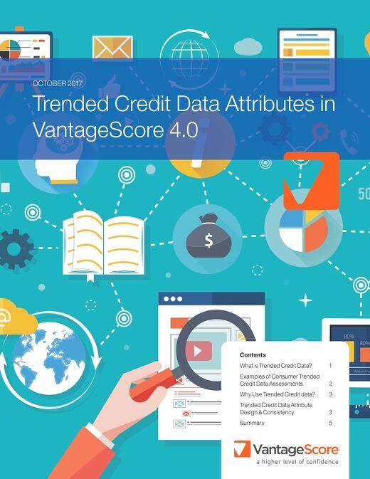 Trended Credit Data Attributes in VantageSore 4.0