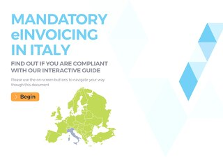 Interactive Guide: Mandatory eInvoicing in Italy