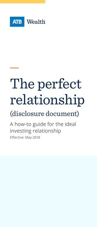 Relationship Disclosure Document