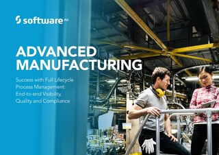 Advanced Manufacturing through Full Lifecycle Process Management