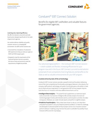 Conduent® EBT Connect Solution