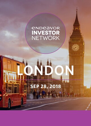 Endeavor - EIN London 2018 - Event Booklet