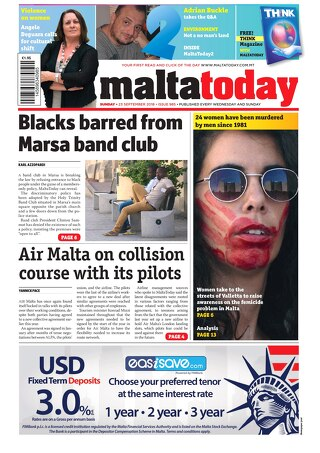 MALTATODAY 23 September 2018