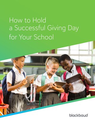 How to Hold a Successful Giving Day for Your School