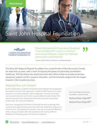 Saint John Regional Hospital Foundation