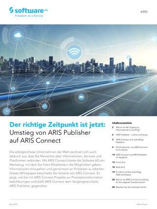 Umstieg von ARIS Publisher auf ARIS  Connect