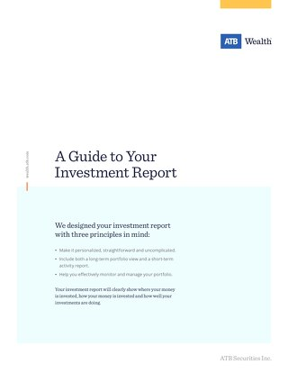 A Guide to Your Investment Report