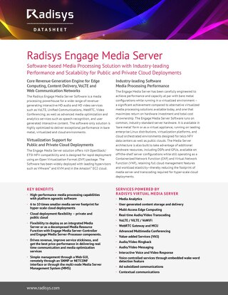 MediaEngine™ Media Server