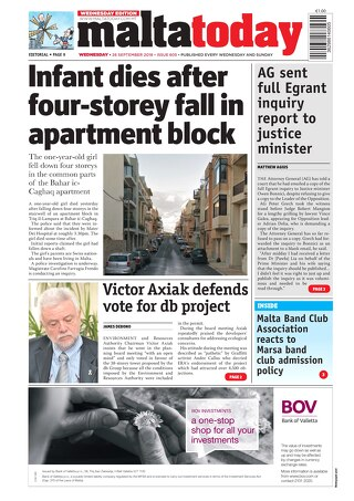 MALTATODAY 26 September 2018 Midweek