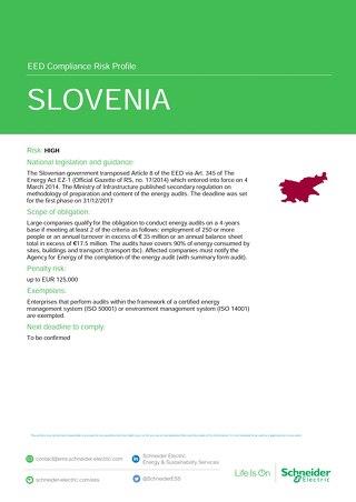 Slovenia EED Risk Profile
