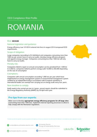 Romania EED Risk Profile