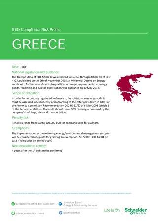 Greece EED Risk Profile
