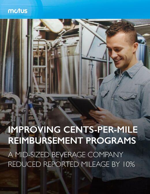 Mid-Sized Beverage Company Improves Cents-Per-Mile Reimbursement Programs