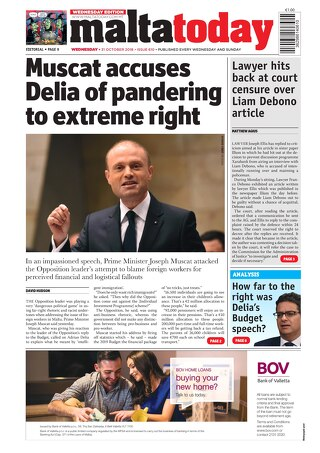 MALTATODAY 31 October 2018 Midweek