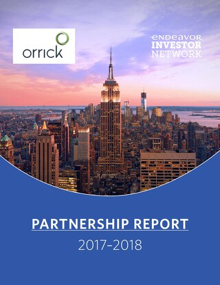 Orrick Partnership Report 2018