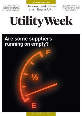 Utility Week 2nd November 2018