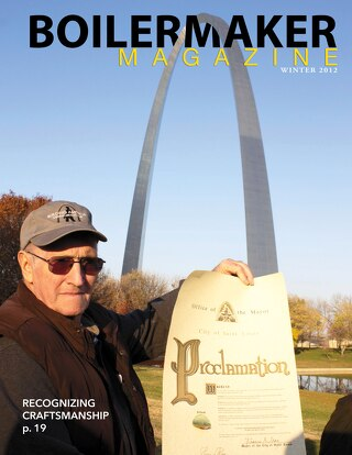 BOILERMAKER MAGAZINE | WINTER 2012