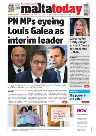 MALTATODAY 7 November 2018