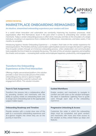 Vendor Onboarding Reimagined