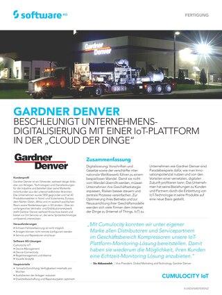 Gardner Denver beschleunigt Unternehmens-Digitalisierung