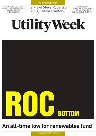 Utility Week 9th November 2018