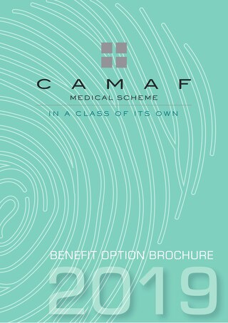 2019 CAMAF Benefit Options