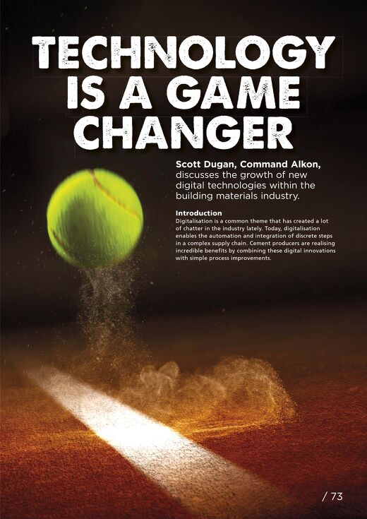 Technology is a Game Changer Featured in World Cement Magazine