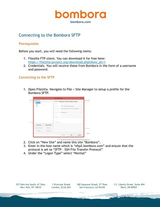 Visitor Insights Feed Setup Guide - Bombora SFTP