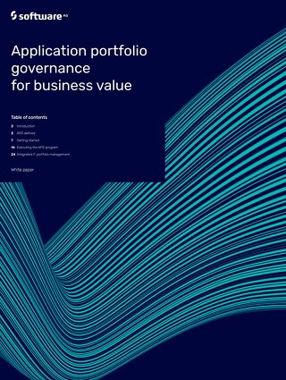 Application Portfolio Governance for Business Value