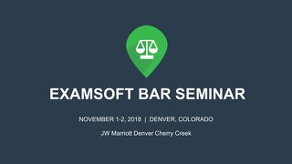 Bar Best Practices—Cheating prevention and more