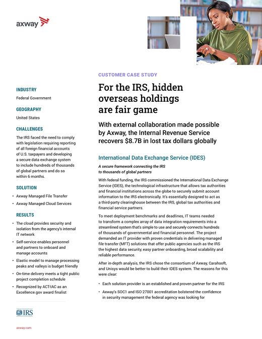For the IRS, hidden overseas holdings are fair game